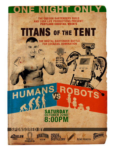 Robots vs Humans Flyer