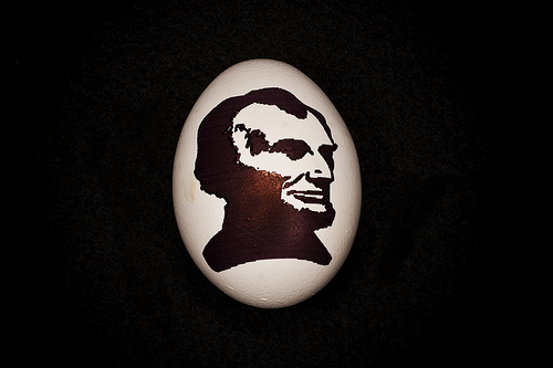 Eggbraham Lincoln by Pete Prodoehl