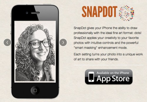 Snapdot app for iphone