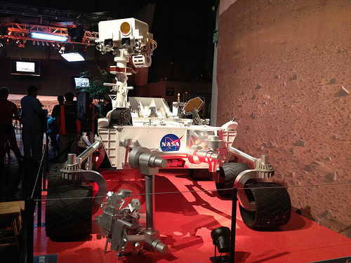 Curiosity model at Exploratorium