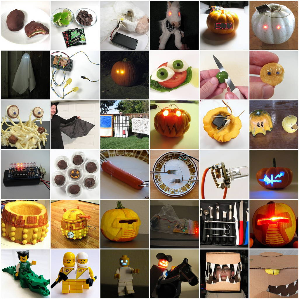 Array of Halloween Projects