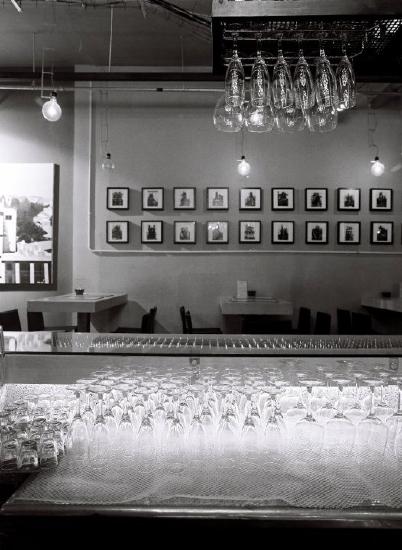 Black & White Bar Picture