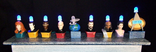 Star Trek TNG Menorah