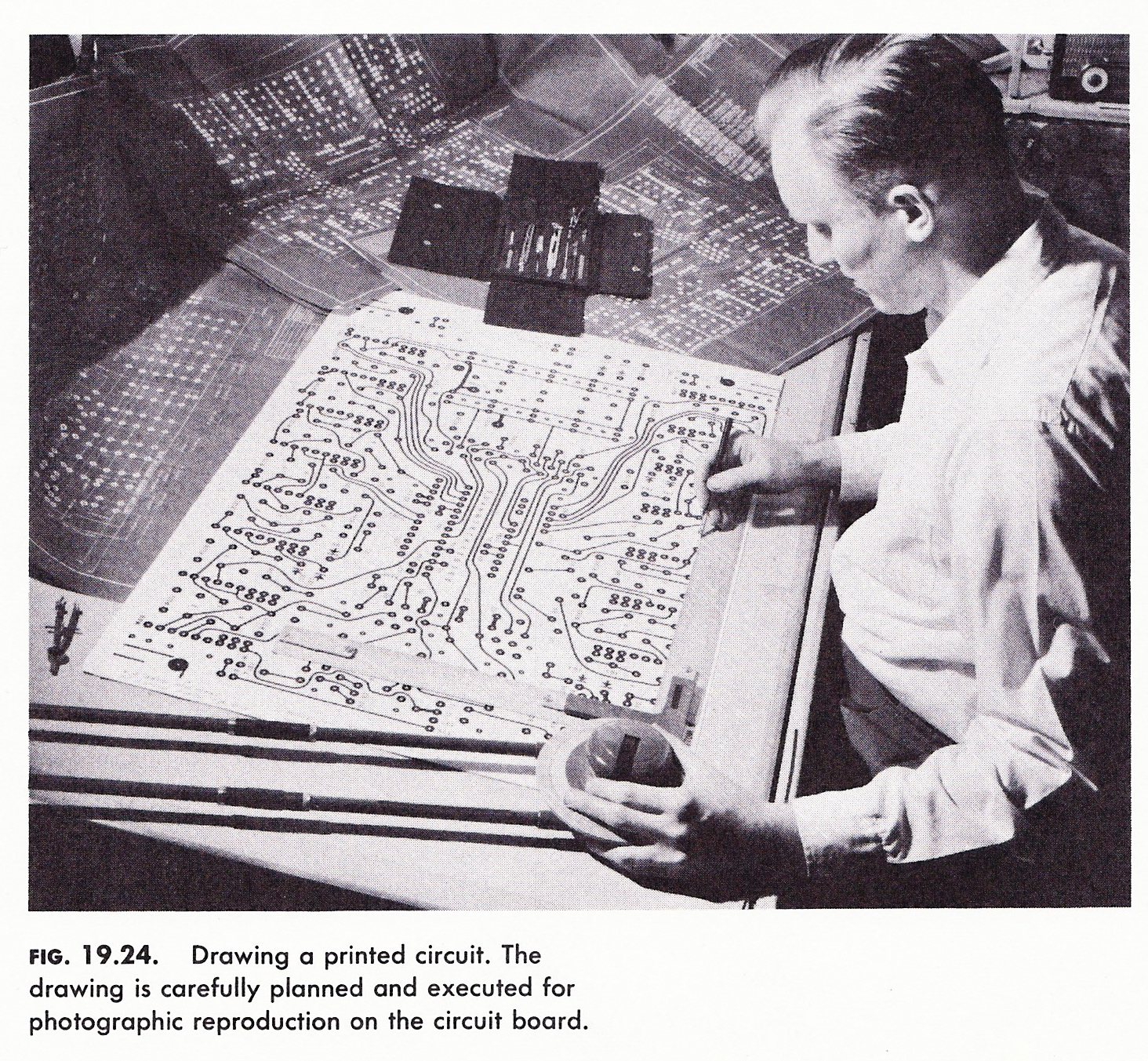 Pcb Evil Mad Scientist Laboratories Printed Circuit Board Designing How Boards Are Designed 1960 Edition