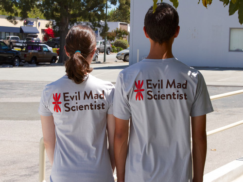 Evil Mad Scientist STEAM T-shirt
