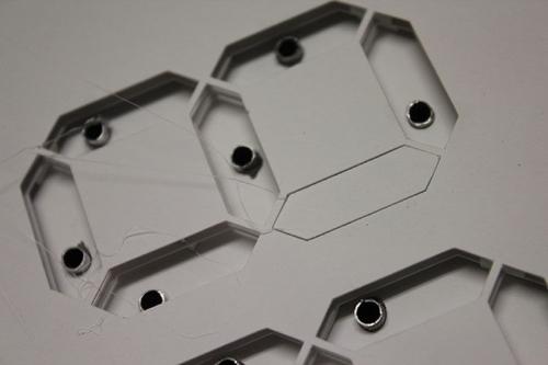 Papercraft Seven Segment Clock | Evil Mad Scientist Laboratories