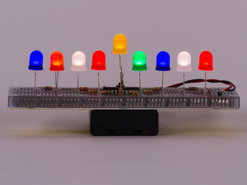 Breadboard LED Menorah Kit