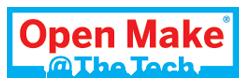 Open Make @ The Tech logo
