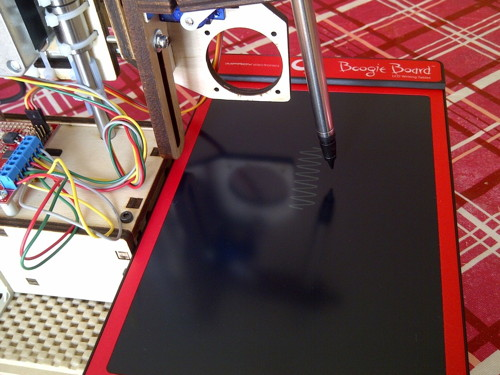 Printer Egg Boogie Board Bot