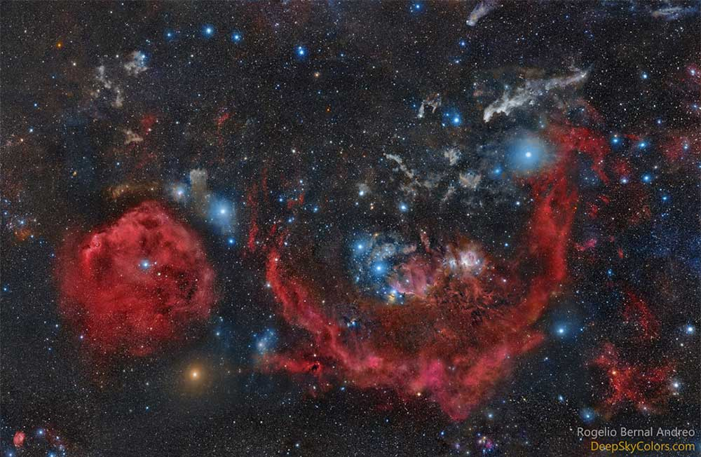 The Clouds of Orion the Hunter