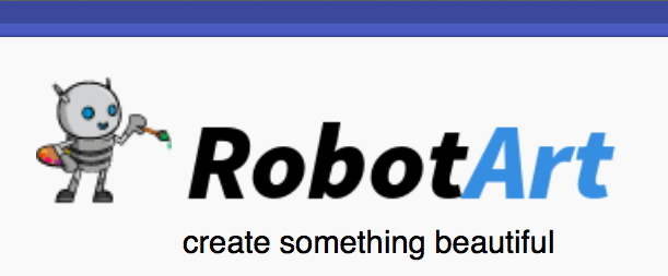 RobotArt logo with subtitle