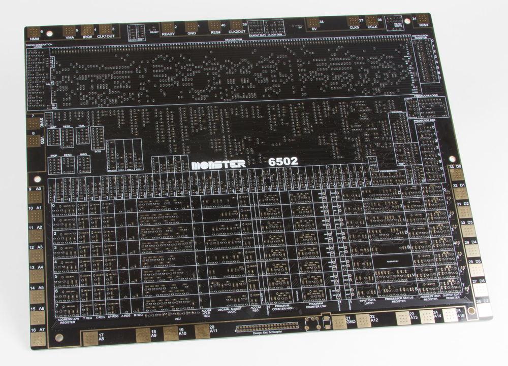 MOnSter 6502 PCB