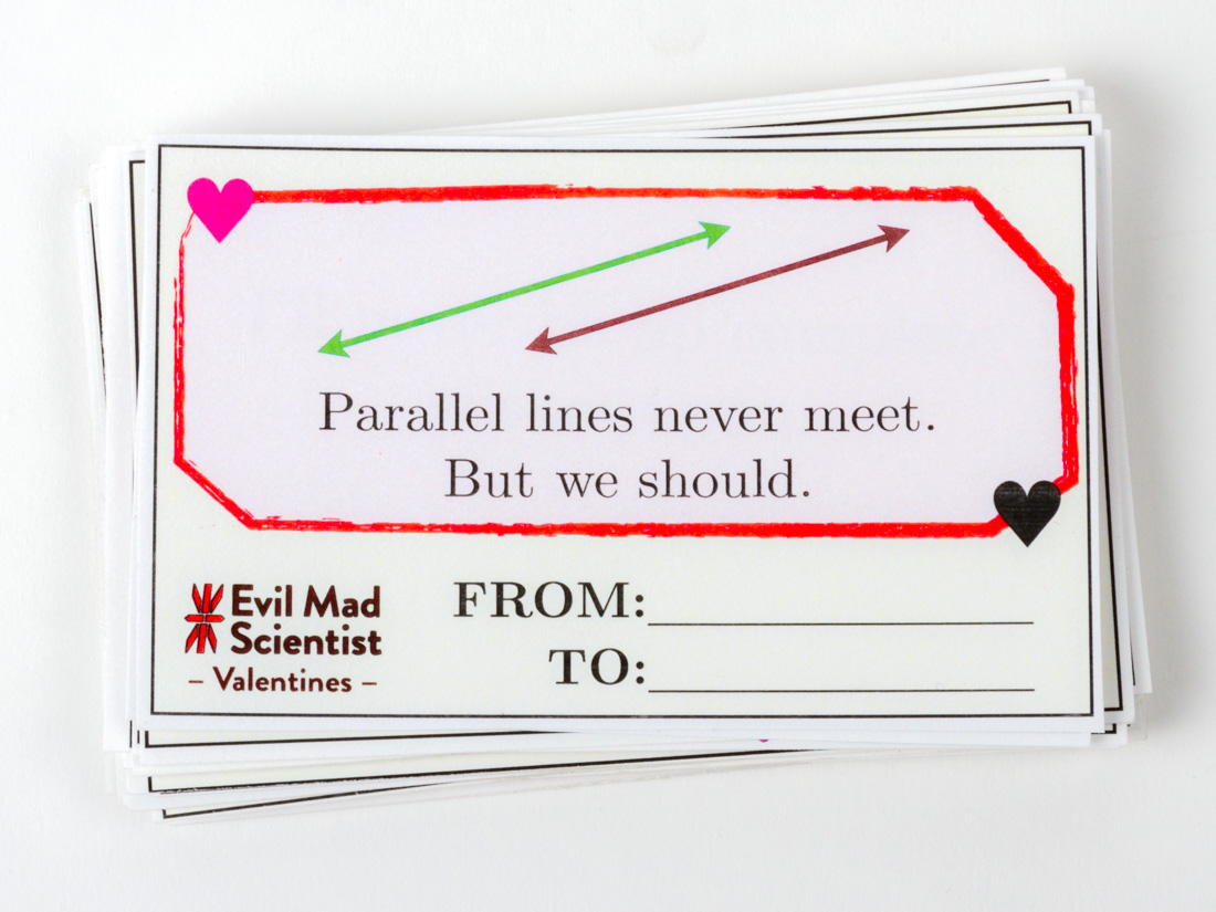 Parallel lines never meet. But we should.