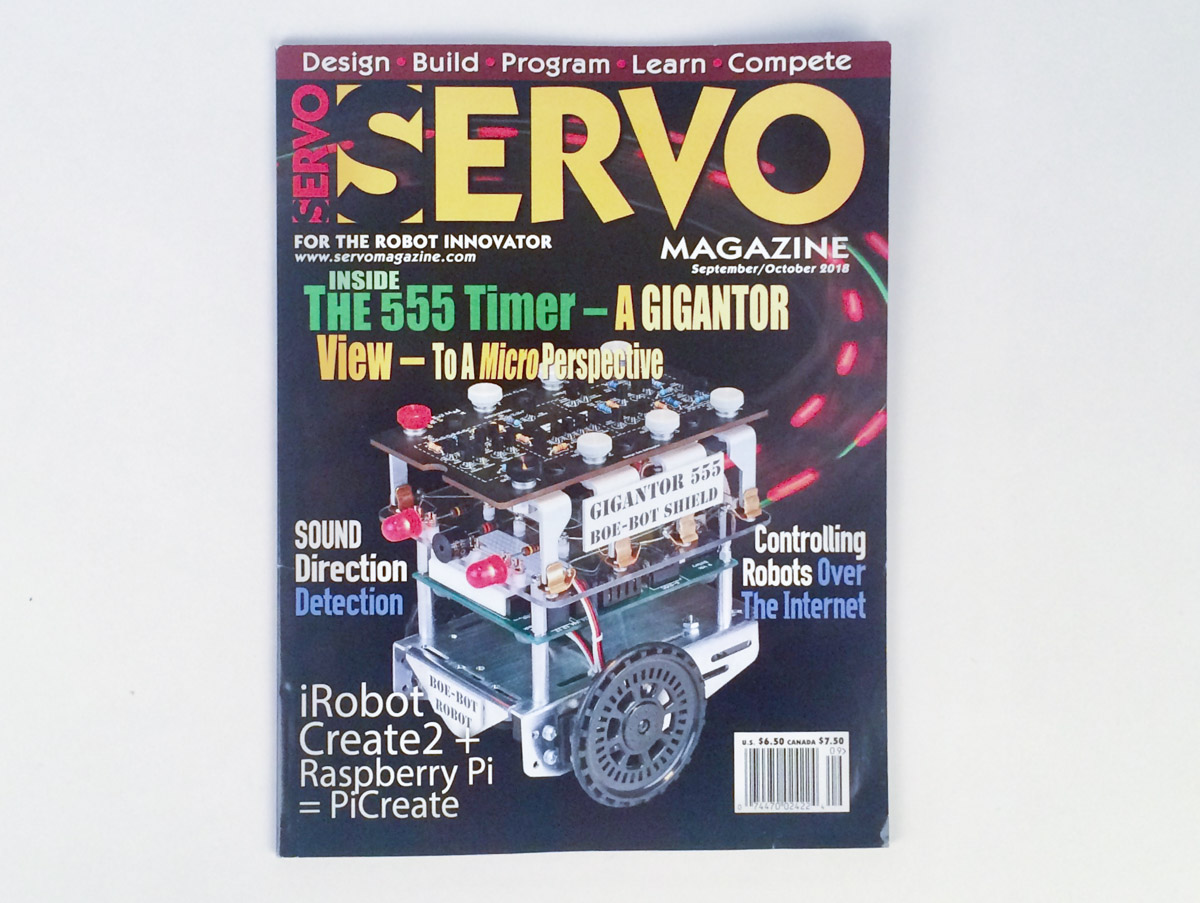 Arduino Planet The Final Open House Reminder News Sparkfun Electronics Our Three Fives Timer Kit Is Featured On September 2018 Cover Of Servo Magazine