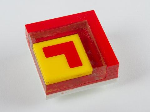 Individual transistor acrylic model