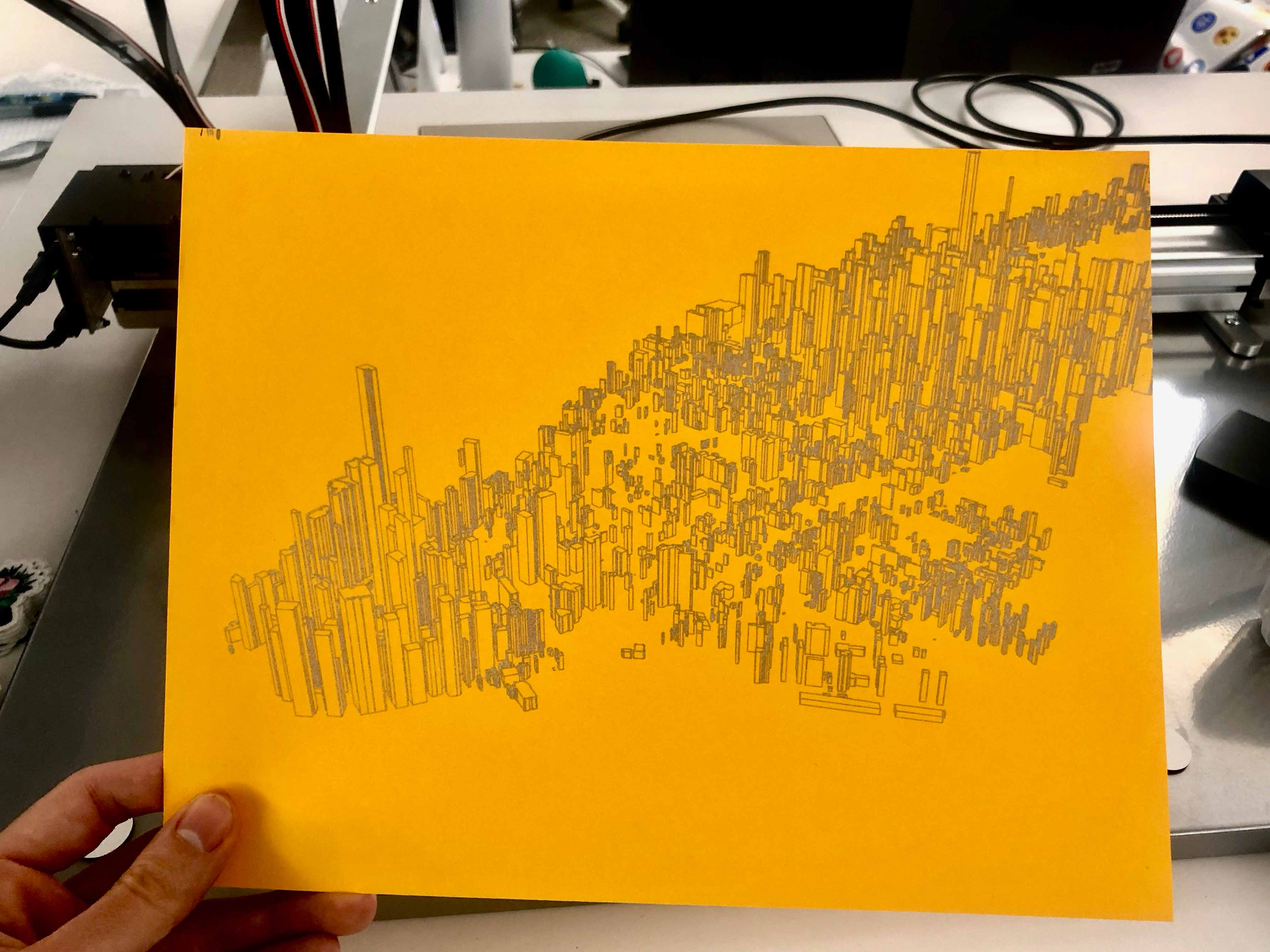 Manhattan drawing