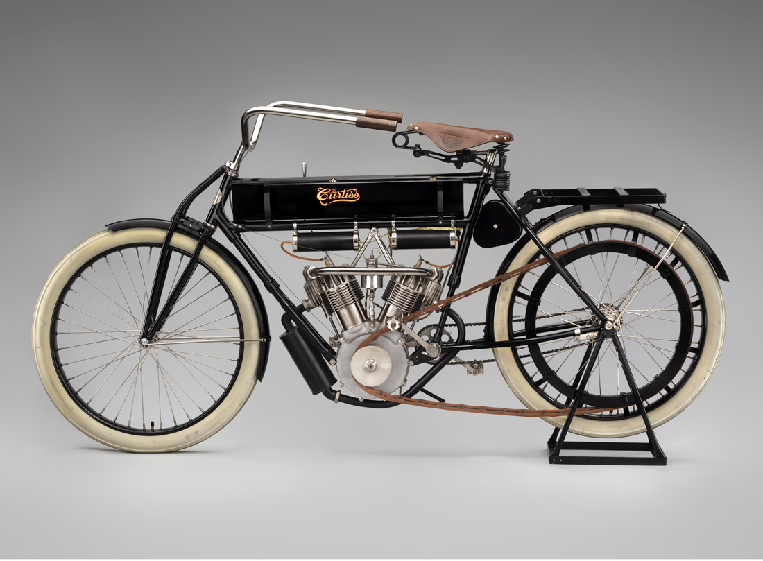 Curtiss Motorcycle from 1907