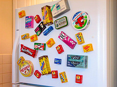 Halloween Candy Magnets